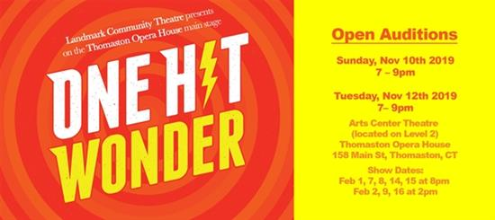 Audition Announcement: ONE HIT WONDER